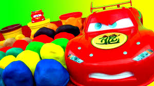 30 surprise eggs play doh surprise egg toys disney cars angry