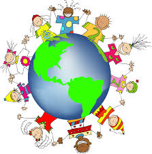 World Map Ks1 by Kids World Hands Friends Networks Globe Illustration Small Free