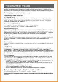 Resume Template Nz Cover Letter For Visa Application New Zealand