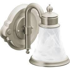 Moen Waterhill Kitchen Faucet Moen Yb9861bn Waterhill Brushed Nickel Bathroom Lighting Lighting