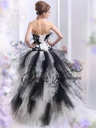 robe de mariã e pas cher en couleur robe de mariee noir et blanc ou autres couleurs pas cher