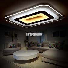 modern acrylic led ceiling lighting living room lights plafond