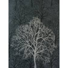download black wallpaper with silver trees gallery