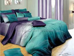 geometric pattern bedding cotton mordern design blue purple geometric pattern hot sale