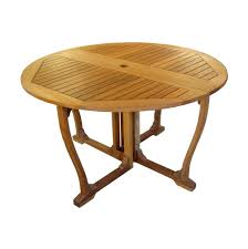 Diy Wood Patio Table by Nice Round Wood Patio Table Patio Design 396