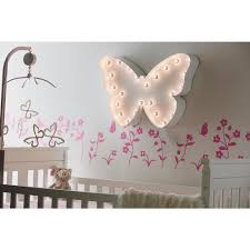 Perfect Lighted Wall Panels 49 by Trekshops Indoor And Outdoor White Powder Coated Steel Butterfly