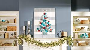 create your own diy ornament display the rustic