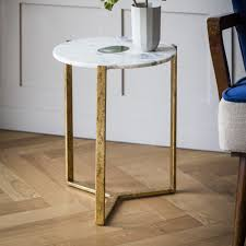 Marble Side Table White Marble And Green Side Table