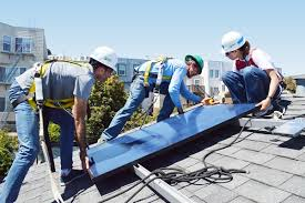 install solar wsp volunteers install solar panels on home wsp