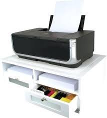 Small Computer Printer Table Desk Desk End Printer Stand Desk Shelf For Printer Computer Desk