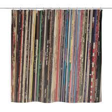 Shower Curtain Vinyl Retro Shower Curtain Vinyl Record Albums Punk Rock U2013 Vinylrecorddude