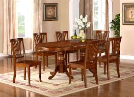 furniture amazing pedestal dining table set round and chairs