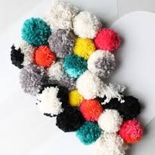 Homemade Pom Pom Decorations Diy Decor Archives My Sister U0027s Suitcase Packed With Creativity