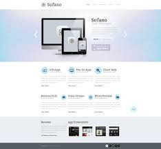 software company responsive website template 50729 for it company