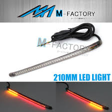 Led Strip Tail Lights by Amp Z Smoke 220mm Integrated Led Tail Brake Light Strip Fit Suzuki