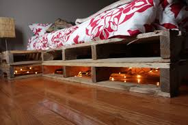 Home Decor With Wood Pallets by Furniture 20 Charming Images Make Your Own Bed Frame From