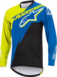 blue motorbike boots alpinestars sight contender ls bicycle jersey shirts bike blue