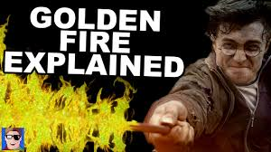 harry potter theory golden flames explained youtube