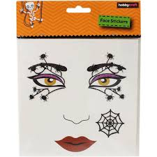 halloween face stickers halloween face painting ideas and face paint kits hobbycraft