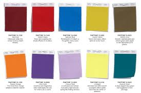 palette pantone the pantone color palette for the fall everyone s talking about