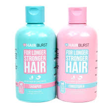 hair burst amazon buy hairburst shoo conditioner set for longer stronger