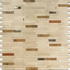 charming mosaic glass tile backsplash stone and stainless steel