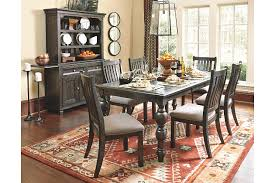 Dining Room Set With Buffet And Hutch Townser 5 Piece Dining Room Ashley Furniture Homestore