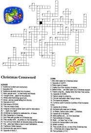 Christmas Worksheets First Grade Christmas Crossword Puzzle Make All The Words Fit Into This