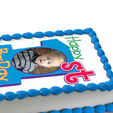 1st birthday boy 1st birthday boy photo edible image cake decoration