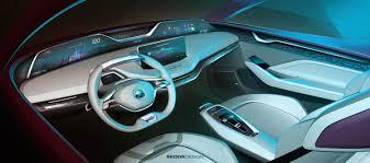 european premiere for škoda vision e concept car at iaa