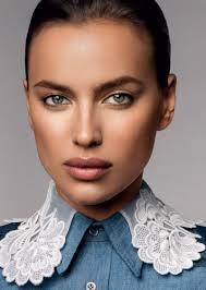 irina shayk wears fall u0027s best makeup looks for glamour russia