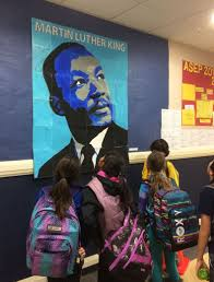 collaborative martin luther king mural art projects for kids