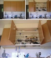 Kitchen Dish Rack Ideas Dish Drying Rack Ideas Dish Draining Closet Space Saver Every Home