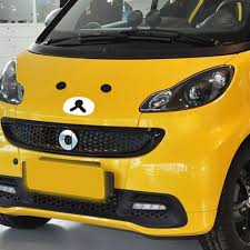 opel peugeot rilakkuma face funny car sticker and decal for volkswagen golf 5 6