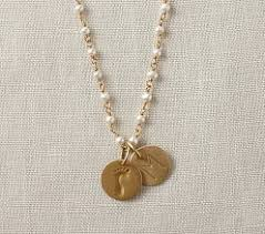 Engraved Monogram Necklace Personalized Monogrammed U0026 Engraved Gifts For Mom Pottery Barn Kids