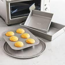 sur la table toaster sur la table platinum professional toaster oven 4 piece pan set