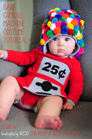 diy baby gumball machine costume peek a boo pages sew