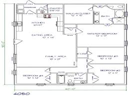 floor plans 40x50 metal building house plans building plans
