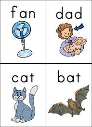 cvc words flashcards