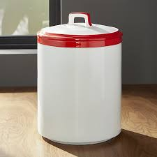 canister kitchen baker and white kitchen canister large crate and barrel