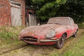 Vintage Cars Found In Barn In Portugal Barn Find U0027 Jaguar E Type Sells For 80 800 Classic And