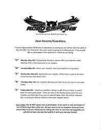thanksgiving letter to parents pta camarena elementary