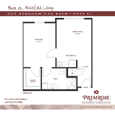 apartment sizes and floor plans for newburgh in primrose