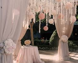 wedding arches using tulle need advice on what type of material to use to decorate my wedding