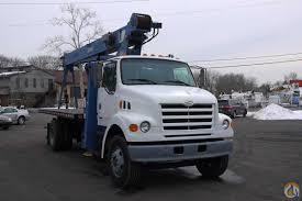 sold 8644 2000 sterling manitex boom crane truck 14 ton crane