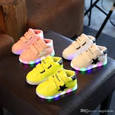 boys size 3 light up shoes baby sport shoes kids shoes led kids boys girls shoes light up