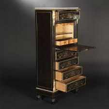 Wood Secretary Desk by Ebonized Wood Secretary Desk Napoleon Iii Expertissim
