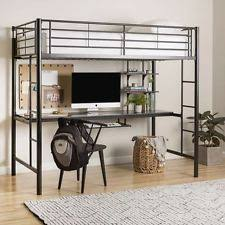 loft bed with desk be equipped loft beds for kids be equipped full
