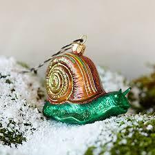 glitter snail ornament terrain