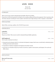 Easiest Resume Builder Enchanting Resume Maker Free Resume Maker Templates Resume Format